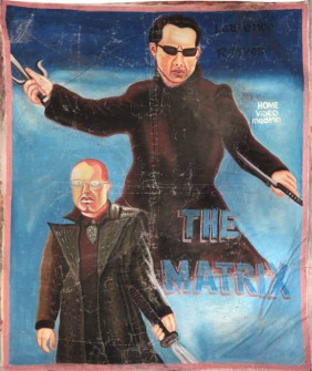 The Matrix poster from Ghana
