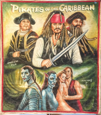 Pirates of the Caribbean by Rights Art